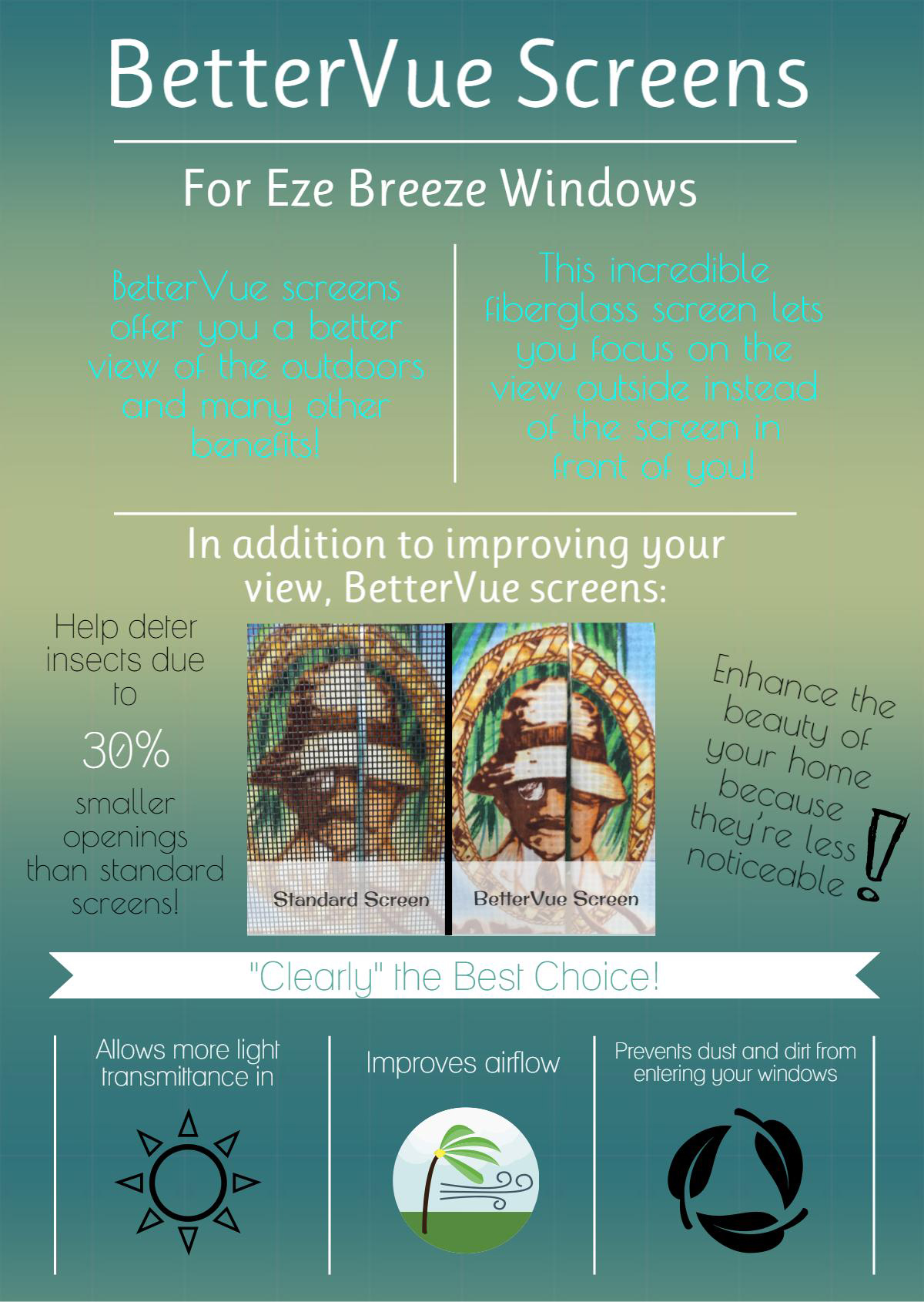 Bettervue Window Screens
